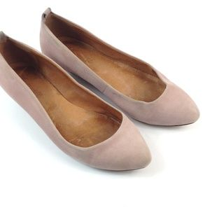 Madewell pointed toe shoes